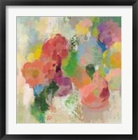Colorful Garden III Framed Print