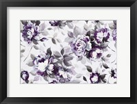 Framed Scent of Roses Plum