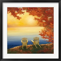 Autumn Glow II Framed Print