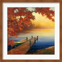 Framed Autumn Glow III