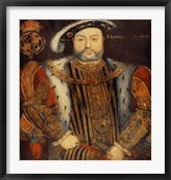 Framed Portrait of Henry VIII E