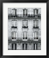 Across the Street II Framed Print