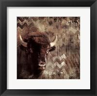 Framed Call Of The Buffalo