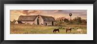 Framed Clayton Barnyard