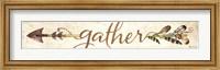 Framed Gather Arrow