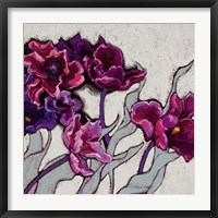Framed Ruffled Tulips