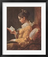 Framed Girl Reading