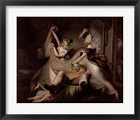 Framed Falstaff In The Washbasket