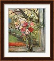 Framed Bouquet Of Flowers