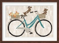 Framed Doxie Ride