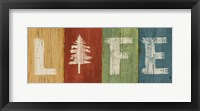 Lake Lodge VI Framed Print