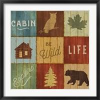 Framed Lake Lodge VIII
