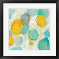 Painted Pebbles II Framed Print
