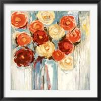 Framed Sunlit Blooms