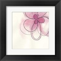 Floral Gesture I Framed Print