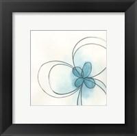 Floral Gesture II Framed Print