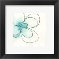 Floral Gesture III Framed Print