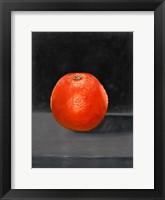 Framed Fruit on Shelf II