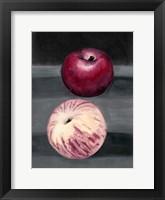 Framed Fruit on Shelf III