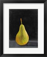 Framed Fruit on Shelf IV