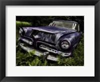 Rusty Auto II Framed Print