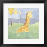 Framed Quinn's Giraffe