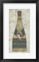 Framed Vintage Champagne I