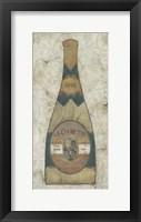Framed Vintage Champagne II