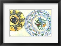 Framed Plate Study II