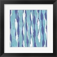 Pattern Waves I Framed Print