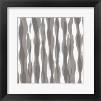 Pattern Waves II Framed Print