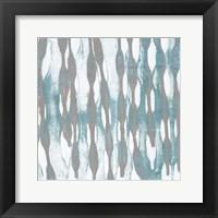 Pattern Waves III Framed Print