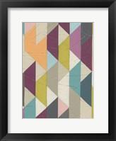 Confetti Prism IV Framed Print