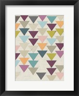 Framed Confetti Prism VII