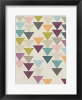 Framed Confetti Prism IX