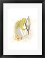 Side Swipe III Framed Print