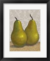 Framed Pear Duo II