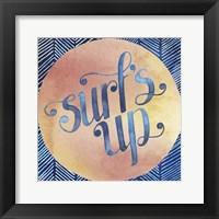 Surf's Up II Framed Print