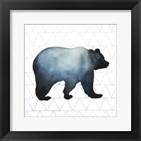 Animal Silhouettes I Framed Print