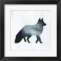Animal Silhouettes II Framed Print