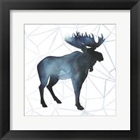 Animal Silhouettes III Framed Print