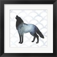 Animal Silhouettes V Framed Print