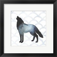 Animal Silhouettes V Framed Print