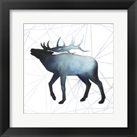 Animal Silhouettes VI Framed Print