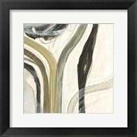 Neutral Lines I Framed Print