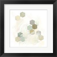 Honeycomb Reaction III Framed Print