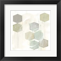 Honeycomb Reaction IV Framed Print