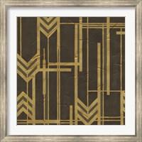 Framed Gilded Deco II