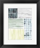 Framed Aerial Abstract I
