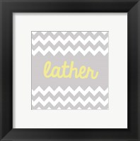 Framed Lather